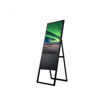 Totem pliable publicitaire vidéo LCD Full 32