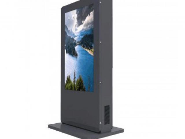 Totem publicitaire Extérieur LCD Full HD 55 pouces