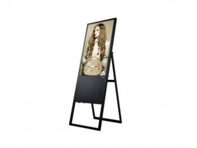 Totem pliable publicitaire vidéo LCD Full 43
