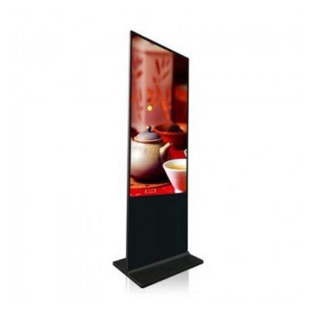 Totem publicitaire 55 pouces LCD Full HD
